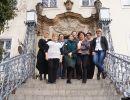 przed Pałacem w Krzyżowej